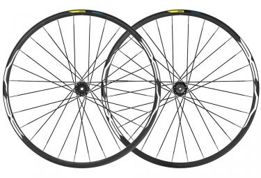 Mavic E-XA 35 Wheelset 2019 27.5'' | Boost 15x110mm - 12x148mm | 6 Bolts | Black