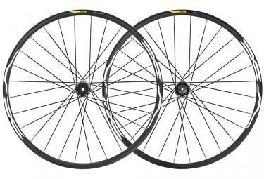 Juego de ruedas Mavic E-XA 35 2019 27.5 '' | Impulso 15x110mm - 12x148mm | 6 tornillos | Negro