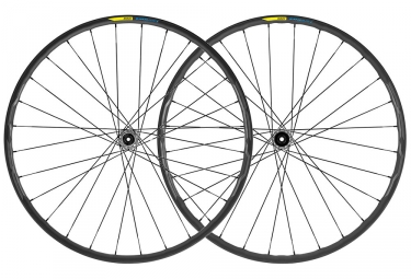 Mavic E-XA Elite Wheelset 27.5'' 2019 | Boost 15x110mm - 12x148mm | 6 Bolts | Black