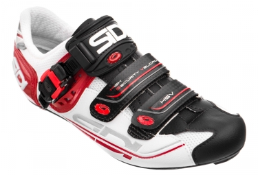 Road Shoes Sidi Genius 7 White/Black/Red 2017