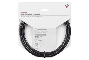 Kit Câble et Gaine Frein Bontrager Route Pro 5mm Noir
