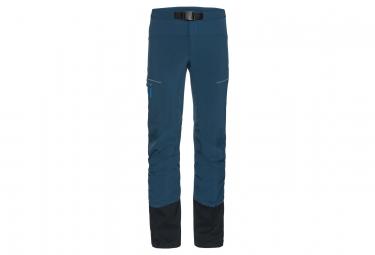 Pantalon Vaude Shuksan Hybrid Bleu