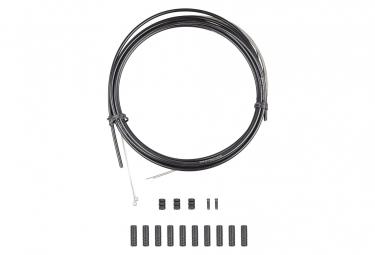 Kit Câble et Gaine Dérailleur Bontrager Route Comp 4mm Blanc