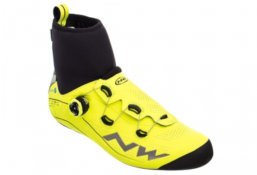 Zapatillas Carretera Northwave Flash Arctic GTX Jaune / Fluo / Noir