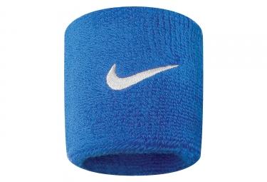 Bandeaux éponge Poignet Nike Swoosh Bleu (Paire)