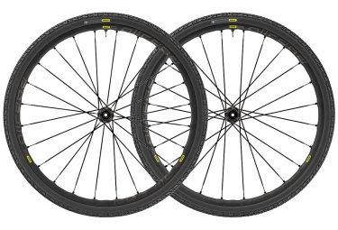 Paire de roues 2019 mavic allroad elite ust disc 12 9x100mm 12x142mm 9x135mm centerl