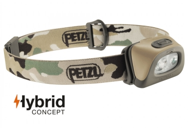 Headlamp Petzl Tactikka + 5 - 250 lumens Camo