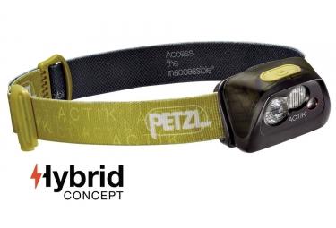 Lampada frontale Petzl Actik 5 - 300 lumen Green
