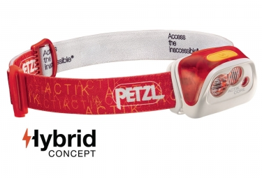 Headlamp Petzl Actik Core 5 - 350 lumens Red