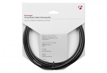 Kit cable et gaine frein bontrager route pro 5mm noir
