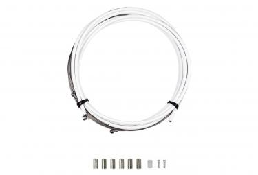 Kit Câble et Gaine Frein Bontrager Route Pro 5mm Blanc
