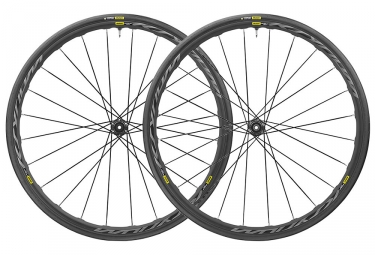 Paire de roues 2019 mavic ksyrium ust disc 12 9x100mm 12x142mm 9x135mm 6 trous yksio