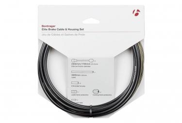 Kit cable et gaine frein bontrager route elite 5mm noir