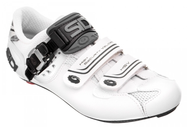Chaussures route sidi genius 7 blanc shadow 46
