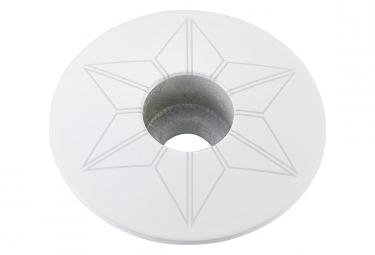 Capot jeu de direction Supacaz Star Capz Blanc (power coated)