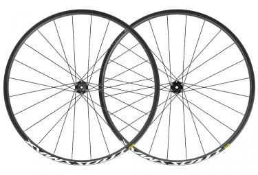 Mavic Crossmax Wheelset 29 '' 2019 | Spinta 15x110mm - 12x148mm | 6 bulloni | Nero