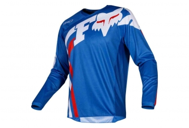 Fox Youth 180 Cota LS Jersey Blue