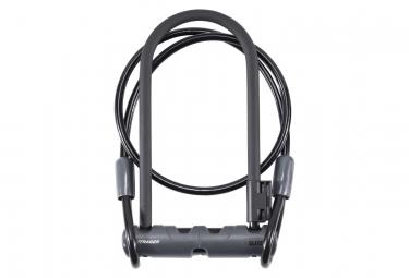 Antivol u avec cable bontrager elite 12mm x 23cm noir