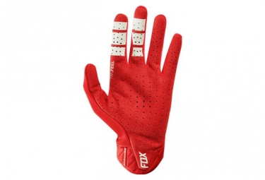 Gants Fox Airline Rouge