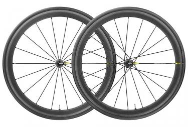 Paire de roues 2019 mavic cosmic pro carbon ust 9x100mm 9x130mm yksion pro ust
