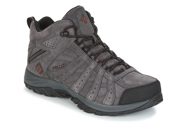 Columbia Canyon Point MID Hiking Shoes Grey