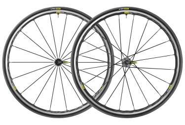 Mavic Ksyrium Elite UST Wheelset 2019 | 9x100mm - 9x130mm | Yksion Pro UST | Black / Grey
