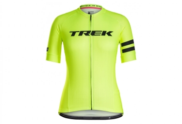 Bontrager Anara LTD Women Jersey Yellow High Visibility