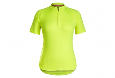Bontrager Kalia Women Jersey Yellow High Visibility 2019