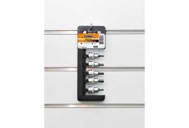 IceToolz E21S Drive Socket Set (5 pieces)