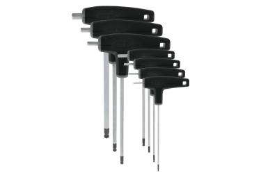VAR Jeu de 7 clés hexagonales têtes sphériques