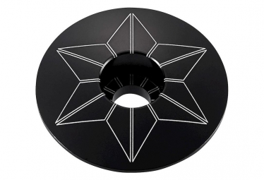 Capot jeu de direction Supacaz Star Capz Noir (powder coated)