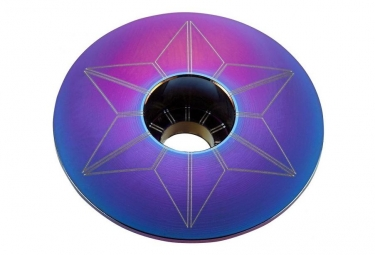 Supacaz Star Capz Oil Slick (anodized)