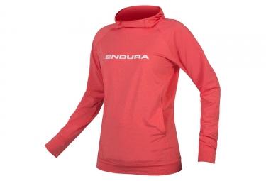 Endura SingleTrack Women Technical Hoodie Coral