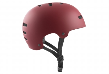 Casque bol Tsg Evolution Solid Satin Oxblood