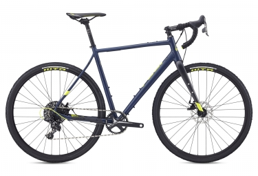 Fuji Jari 1.3 Gravel Bike Sram Apex 11S 2019 Satin Blu Navy