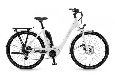 Bicicleta Ciudad Mujer Winora Sinus Tria 7 eco Blanc