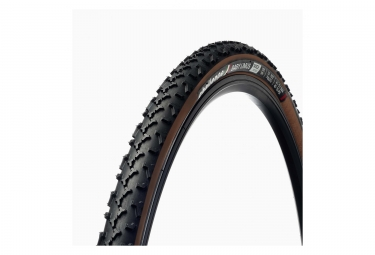 Pneu cyclo cross challenge baby limus race 120tpi noir marron 33 mm