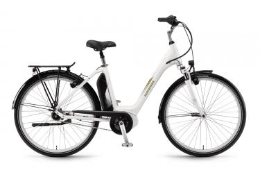 Bicicleta Ciudad Mujer Winora Sima N7f 400 Blanc