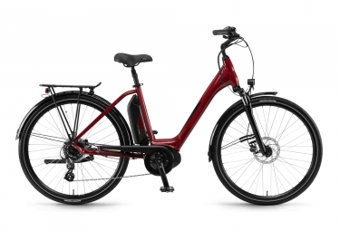Winora Sima 7 400 Womens E-Bike  Rouge