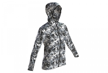 Arena Gym Women's Hoodie Black White Camo
