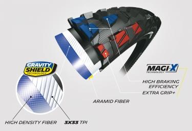 Pneu VTT Michelin Rock'R2 Enduro Front Competition Line 29 Tubeless Ready Souple Gravity Shield Magi-X E-Bike