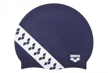 Bonnet de Bain ARENA TEAM STRIPE Bleu