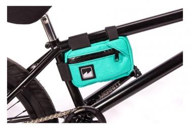Sacoche de cadre merritt corner pocket frame bleu turquoise