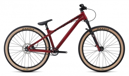Vtt dirt commencal absolut 26 rouge 2019 s m 155 180cm