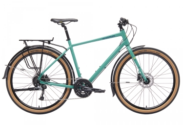 Kona Dew Deluxe City Bike 650mm Bleu