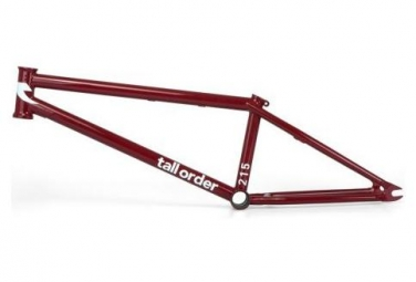 Cadre BMX Freestyle Tall Order 215 Gloss Red / Rouge
