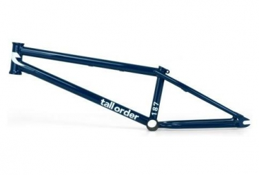 Tall Order BMX Freestyle Frame 187 Deep Blue / Bleu