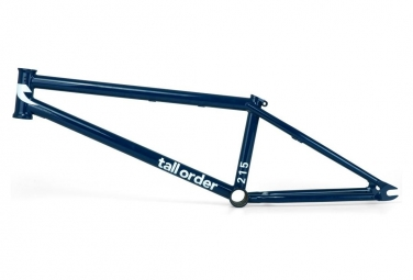 Tall Order BMX Freestyle Frame 215 Deep Blue