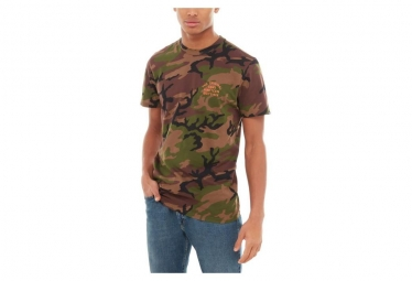 T shirt manches courtes vans spring training camo xl