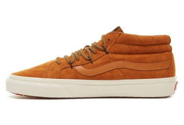 Vans Mid-Hi Shoes Sk8-Mid Reissue G Sudan Brown/Marshmallow